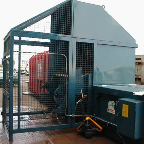 Static Compactor with Left Hand Side Loader